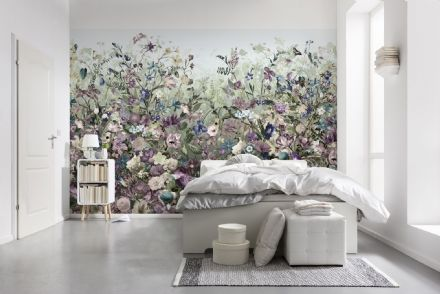 Non-woven Botanica wallpaper flowers